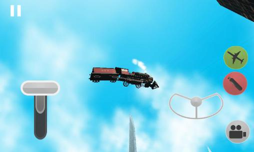 Flying train simulator 3D für Android