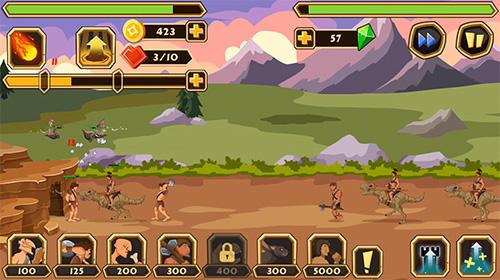 Strategiespiele Knights age: Heroes of wars. Age: Legacy of war für das Smartphone