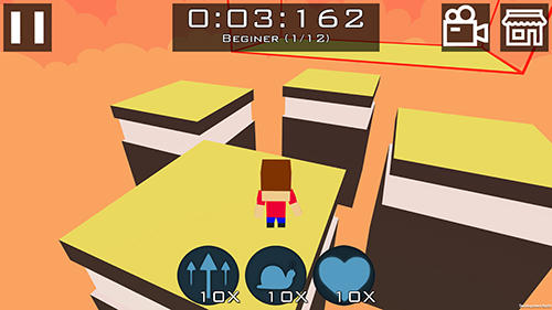 Arcade Chasing light: BHOP game for smartphone