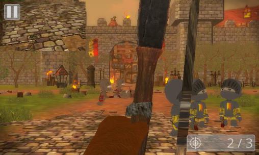 Schießstand Total medieval war: Archer 3D auf Deutsch