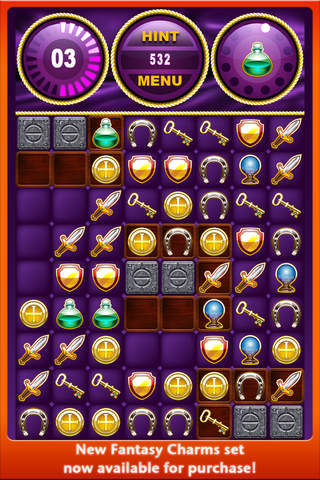 Logic games: download Charmed to your phone