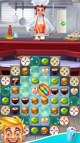 Arcade Superstar chef for smartphone