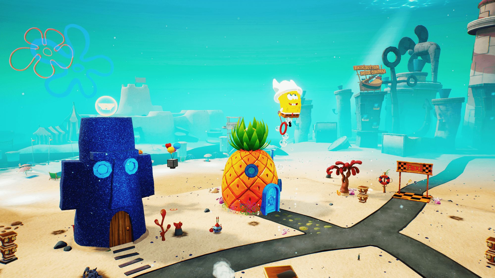 SpongeBob SquarePants: Battle for Bikini Bottom screenshot 1