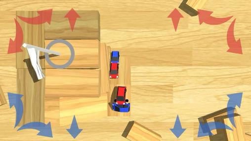 Multiplayer games Madcar: 2-4 players for smartphone