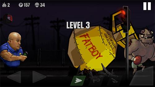Police vs zombies Screenshot