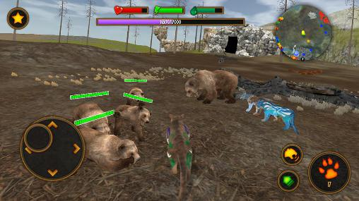 Simulation Clan of puma pour smartphone