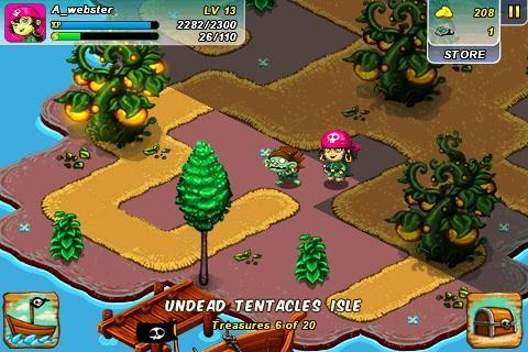 L'Ile de Zombies pour iPhone gratuitement