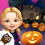 Sweet baby girl: Halloween fun icono