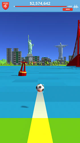 Soccer kick for Android