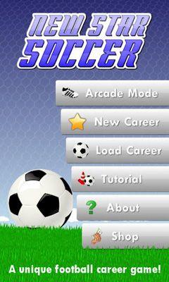 New Star Soccer capture d'écran