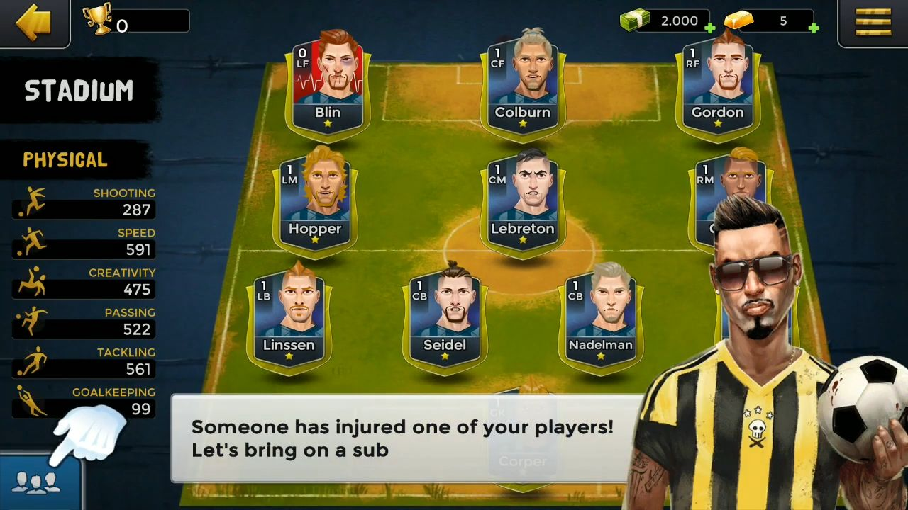 Underworld Football Manager 2 - Bribery & Sabotage for Android