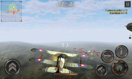 WW1 Sky of the western front: Air battle screenshot 1