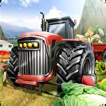 Hill farm truck tractor proіконка