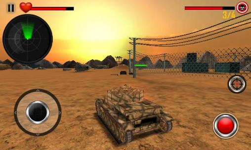 Tank strike: Battle of tanks 3D screenshot 1