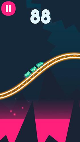 Rollercoaster dash in English