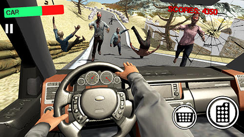 Zombie crush hill road drive for Android