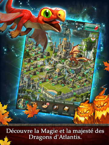RPG: Lade Drachen von Atlantis: Erben der Drachen auf dein Handy herunter
