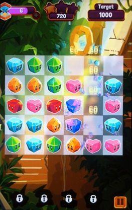 d'arcade Jungle cubes pour smartphone