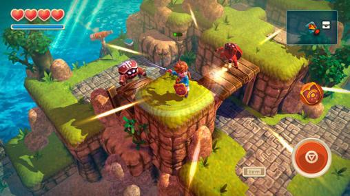 Action RPGs Oceanhorn: Monster of uncharted seas auf Deutsch