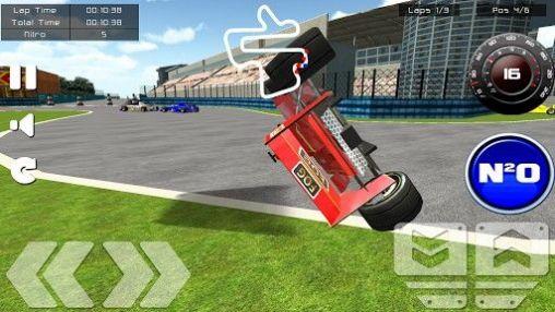 Rennspiele Formula racing game. Formula racer für das Smartphone