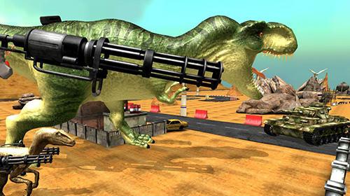 Action Dinosaur battle survival für das Smartphone