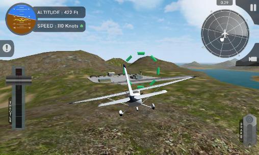 Simuladores de voo Simulador de voo de avião 2015 em portugues