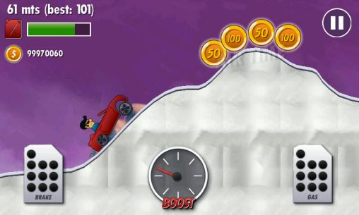 Mountain climb racer скриншот 2