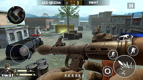 Action Counter terrorist: Sniper hunter für das Smartphone