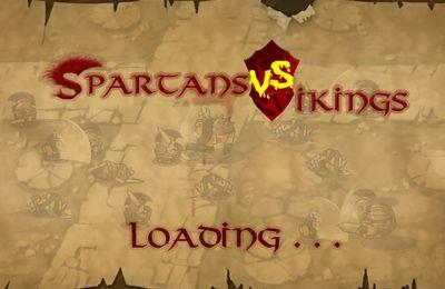 логотип Спартанцы против Викингов