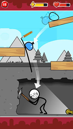 Funny ball: Popular draw line puzzle game für Android