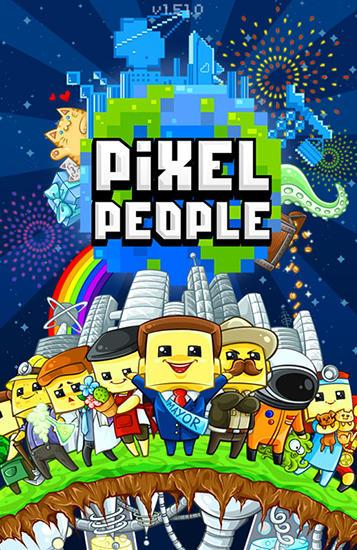 Pixel people icône