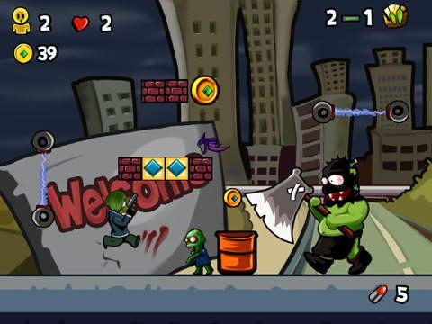 Super Zombie Ninja vs. Zombies World für iPhone