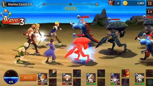 Strategische RPG-Spiele Battle of souls auf Deutsch