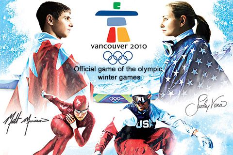 logo Vancouver 2010: Official game of the olympic winter games