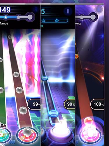 Arcade-Spiele Tap tap reborn für das Smartphone