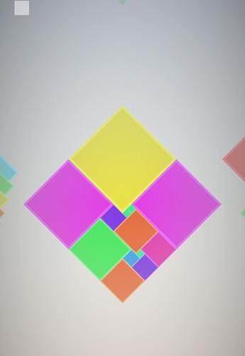 Logikspiele Isometric squared squares für das Smartphone