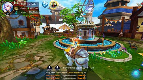 RPG-Spiele Throne of elves für das Smartphone