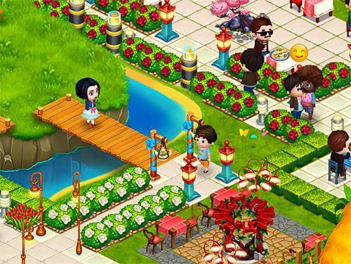 Fröhliches Cafe für iPhone