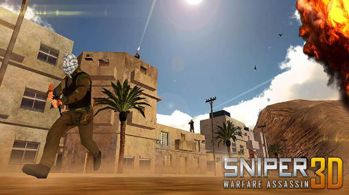 Sniper warfare assassin 3D Screenshot