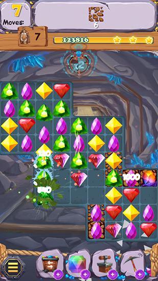 Royal gem rescue: Match 3 für Android