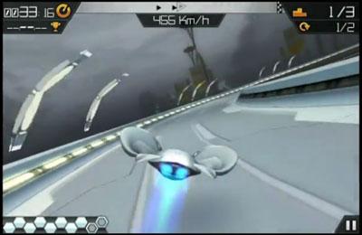 Screenshot AXL: Volle Geschwindigkeit auf dem iPhone