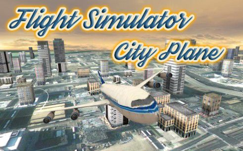 Flight simulator: City plane Screenshot