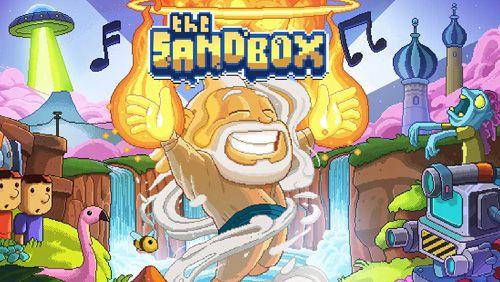 logo Die Sandbox: Baue und erstelle deine Pixelwelt
