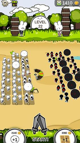 Mini army in English