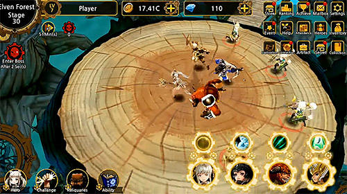 RPG Fantasy tales: Idle RPG pour smartphone