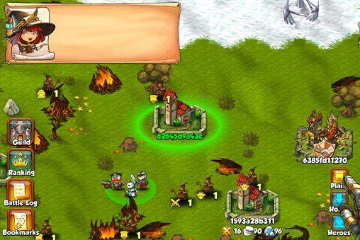 Screenshot Bund der Helden auf dem iPhone