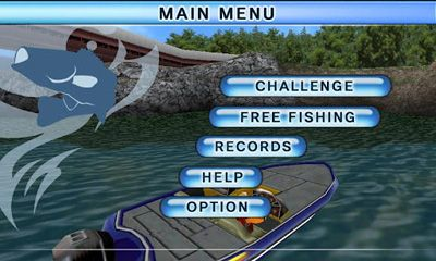 Arcade Bass Fishing 3D on the Boat for smartphone