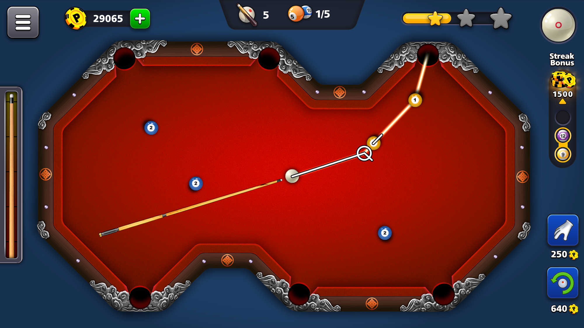 8 Ball Pool Trickshots pour Android