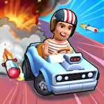 Boom karts: Multiplayer kart racing Symbol