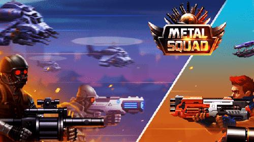 Metal squad: Shooting game screenshot 1